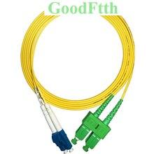 Fiber Patch Cord Jumper LC-SC/APC SC/APC-LC/UPC SM Duplex GoodFtth 100-500m цена и фото