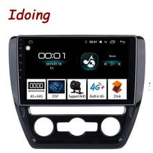 "Ido 10.2 ""4G + 64G ثماني النواة سيارة أندرويد راديو فيديو مشغل وسائط متعددة صالح فولكس واجن 2011 2015 2.5D IPS DSP لتحديد المواقع والملاحة"