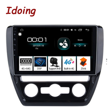 "Idoing 10.2 ""4G + 64G אוקטה Core רכב אנדרואיד רדיו Vedio מולטימדיה נגן Fit VOLKSWAGE 2011 2015 2.5D IPS DSP GPS ניווט"