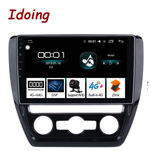 "Image 1 - Idoing 10.2""4G+64G Octa Core Car Android Radio Vedio Multimedia Player Fit VOLKSWAGE 2011 2015 2.5D IPS DSP GPS Navigation"