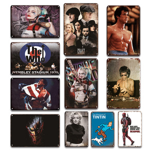 Popular Cinemas Poster Iron Pa