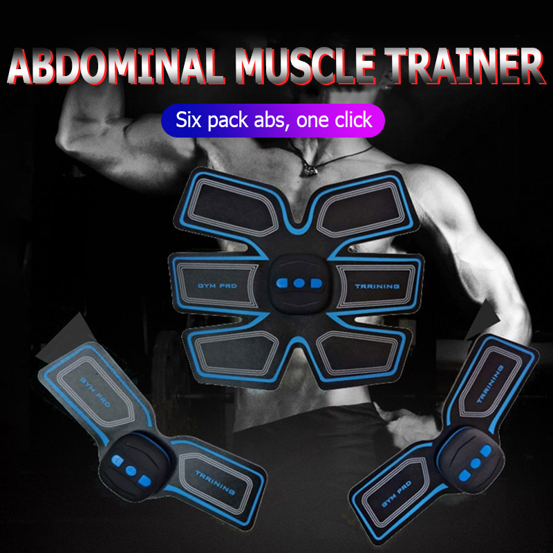 Abs Abdominal Instrument Abdominal Electric Home Gym Equipment Muscle Trainer AB Stimulator Unisex Training Abdomen Instrument image