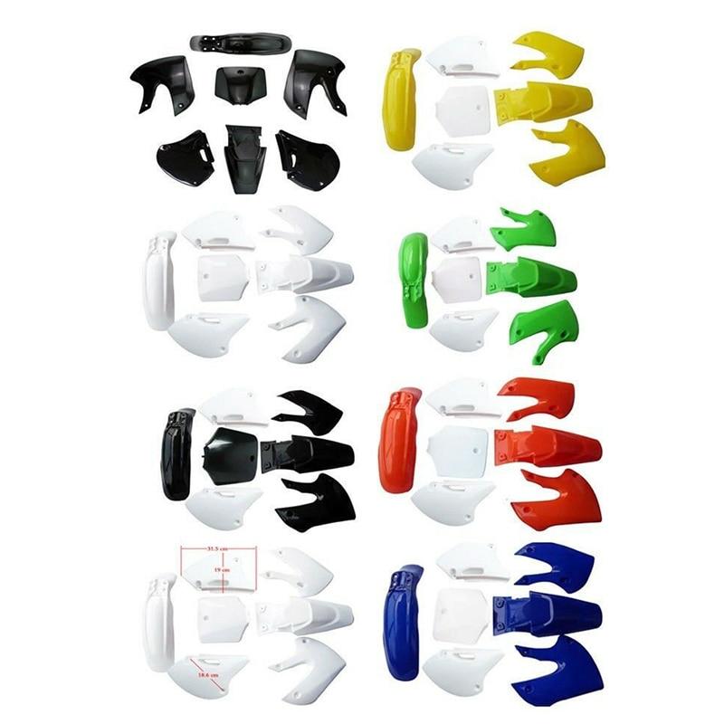 Обтекатели пластмассовые Брызговики Для BBR Style 110cc 125cc 140cc 150cc Dirt Pit Bike