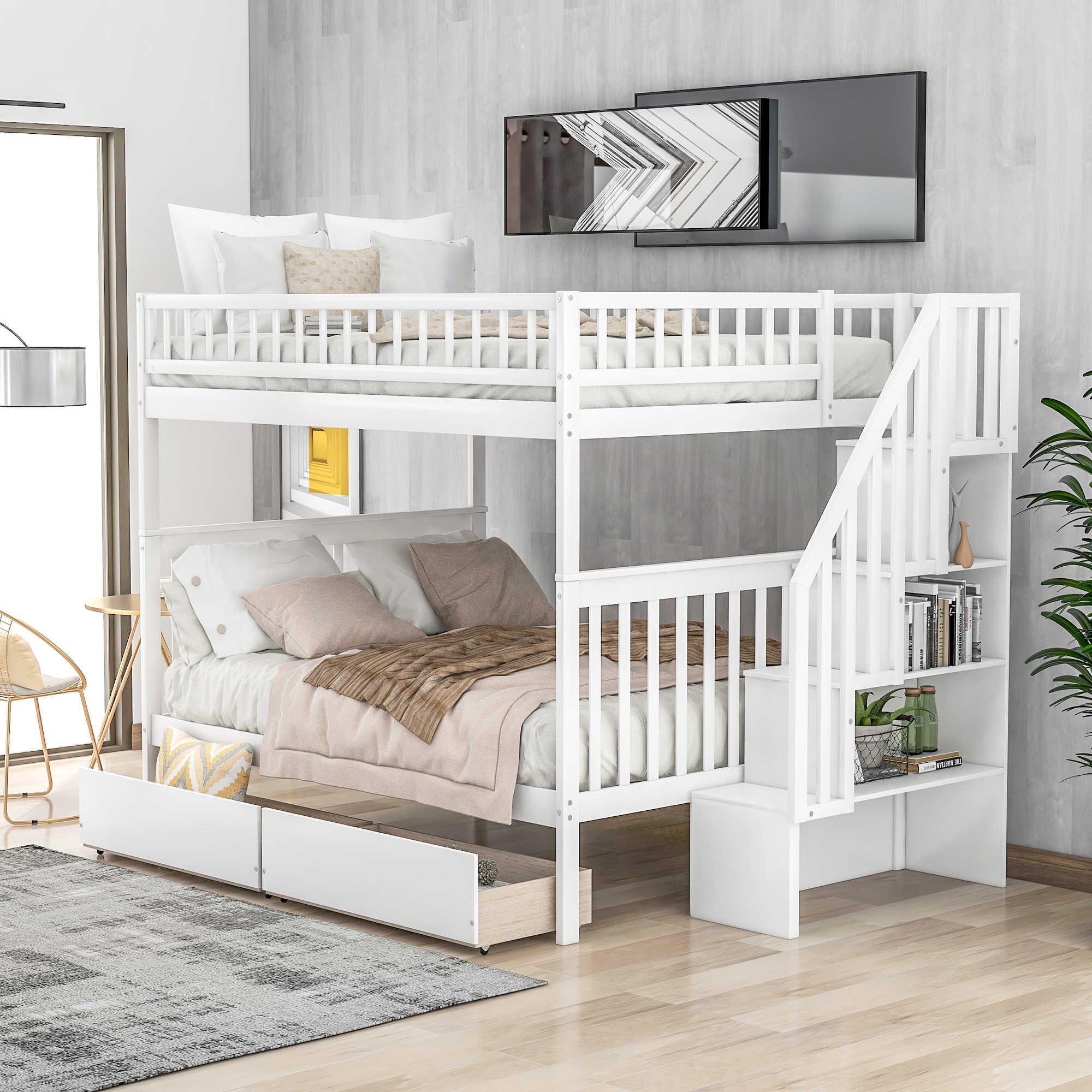 Modern Space Saving Kids Bedroom Furniture Set Pink Princess Twin Loft Bunk Beds With Desk And Wardrobe Bunk Bed Set Bedroom Sets Aliexpress