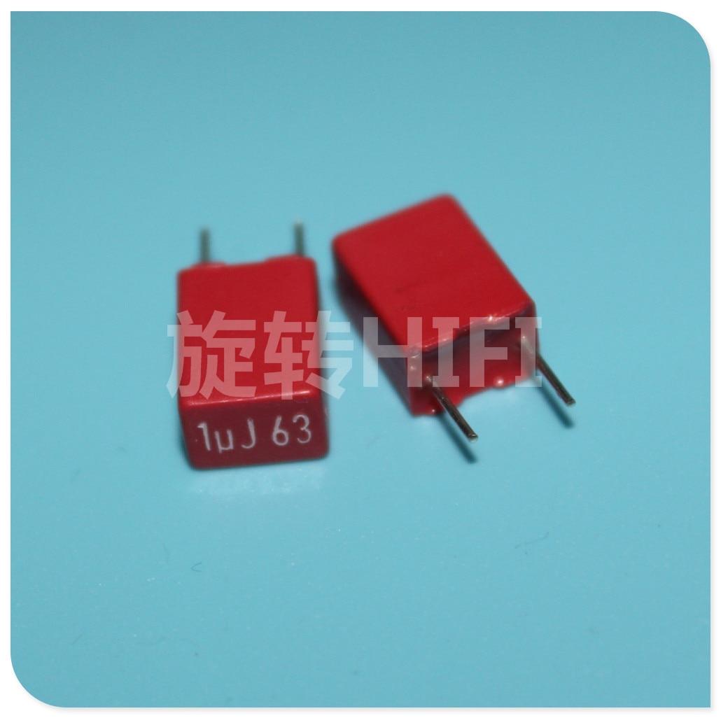 1pcs WIMA 5MM Film Capacitor MKS2 P5 1uf 1.5uf 2.2uf 3.3uf 4.7uf 6.8uf 10uf 50v 63v 100v