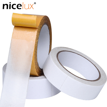 10meter Mesh Grid Cloth Double-sided Tape Adhesive Carpet Floor Leather Thick 0.35mm Fixing Sticky Carpet High-adhesive Tape