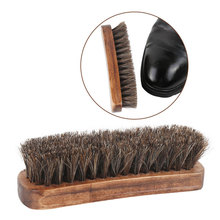 Щетка для обуви из конского волоса, блестящие щетки, инструмент для выскабливания с конским волосом, щетина для сапог, обуви и других кожаных щеток