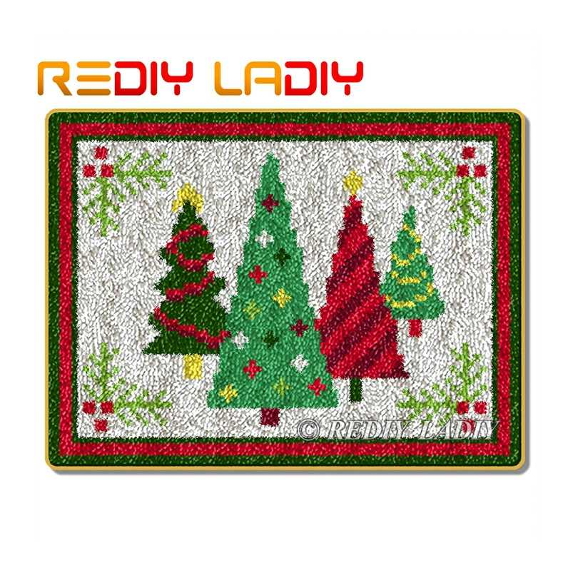 Latch Hook Rug Kit Christmas Tree