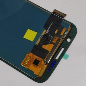 Image 5 - G920f شاشات lcd لسامسونج غالاكسي S6 G920 G920F شاشة الكريستال السائل مجموعة المحولات الرقمية لشاشة تعمل بلمس لا الإطار لسامسونج S6 TFT شاشة الكريستال السائل
