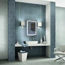 Anti Fog Mirror Beauty Makeup LED Mirror Home Rectangular Bathroom Mirror Cool White LED Light Wall Mounted 60x80/50x70cm HWC
