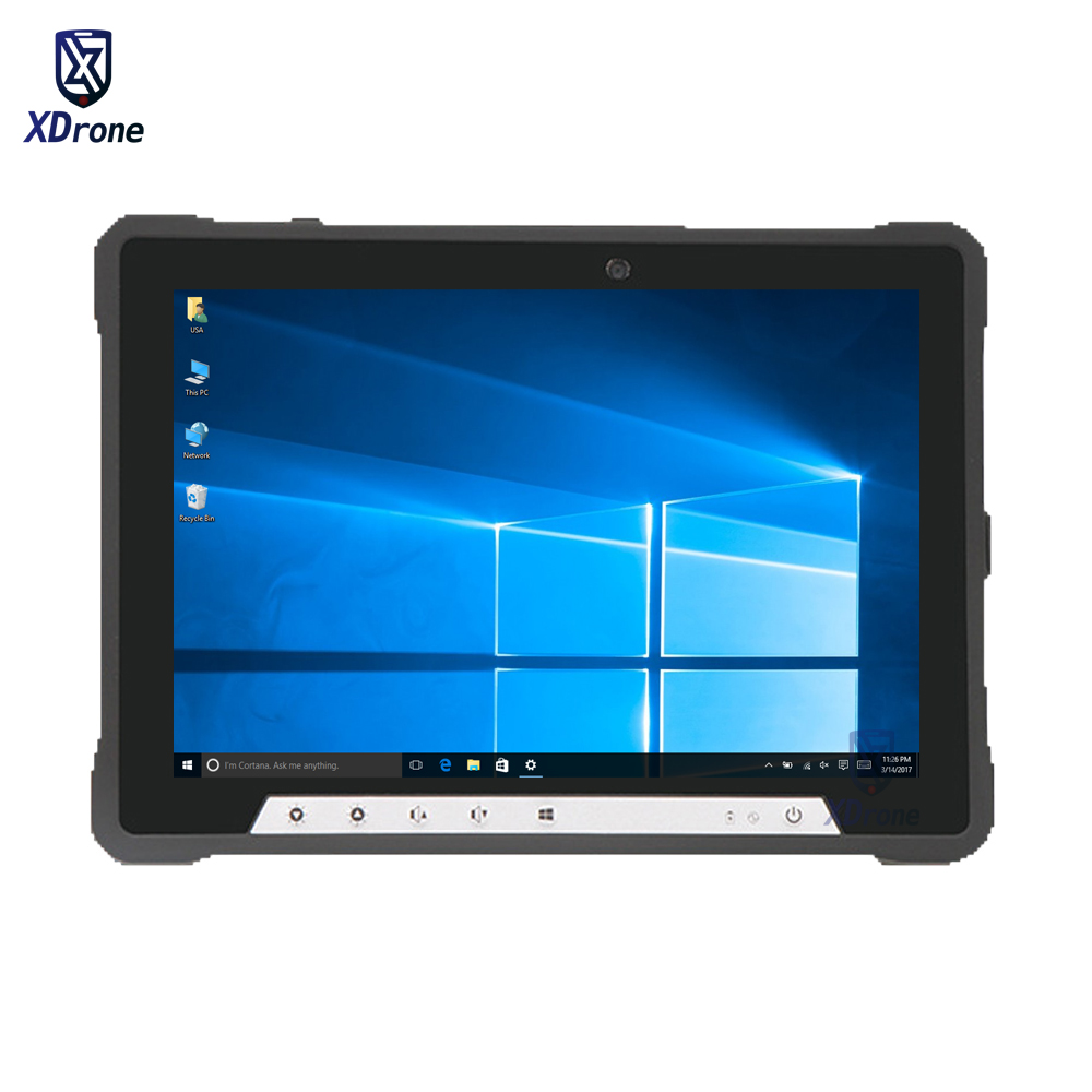 Fanless Rugged Windows 10 Home Industrial Tablet PC Linux Intel I3 8GB RAM I7 10.1
