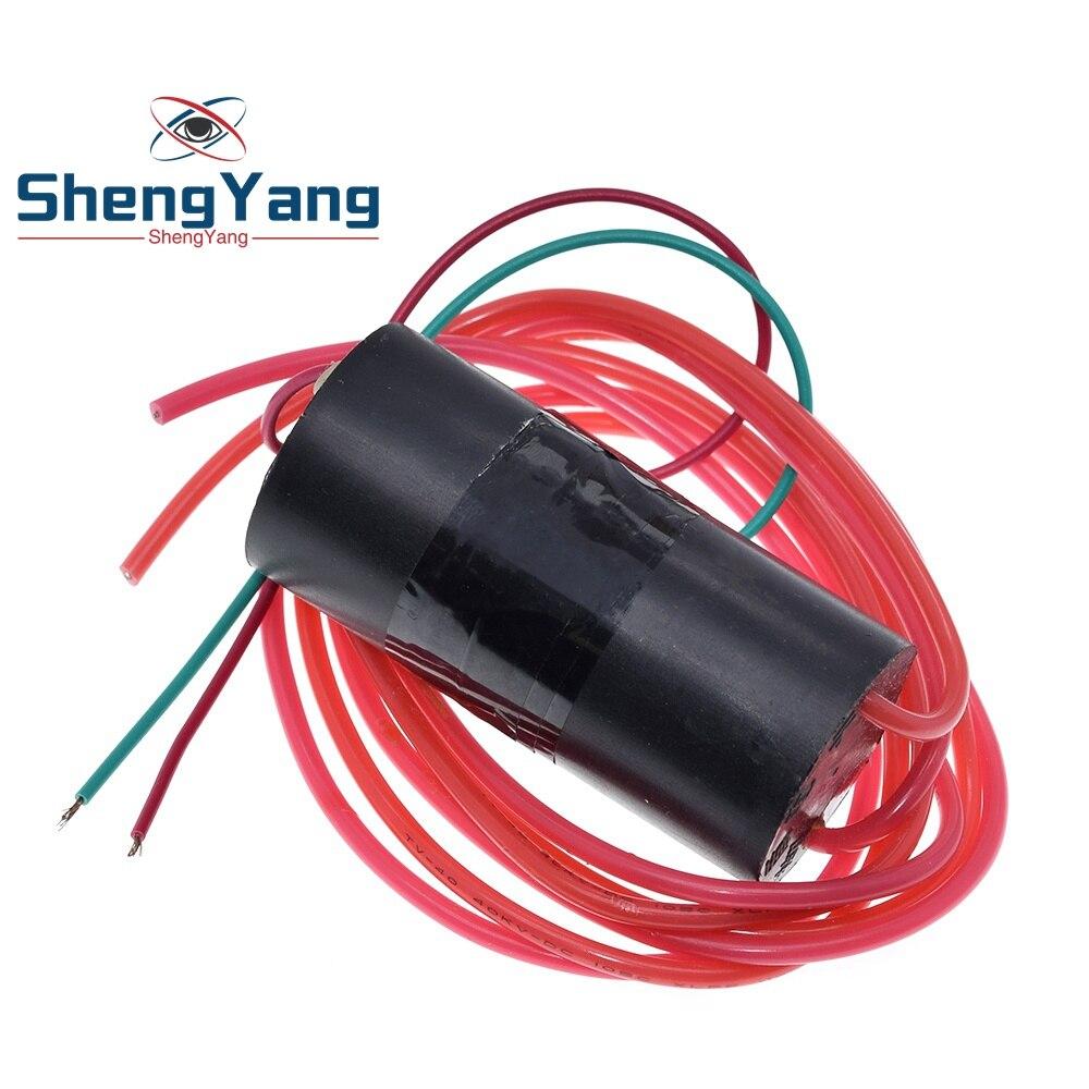 Новый 500KV 500000V повышающий с высоким уровнем Напряжение генератор катушка зажигания импульсный Мощность блок зажигания с источником питания от постоянного тока, 6V-12V Высокая Напряжение генератор