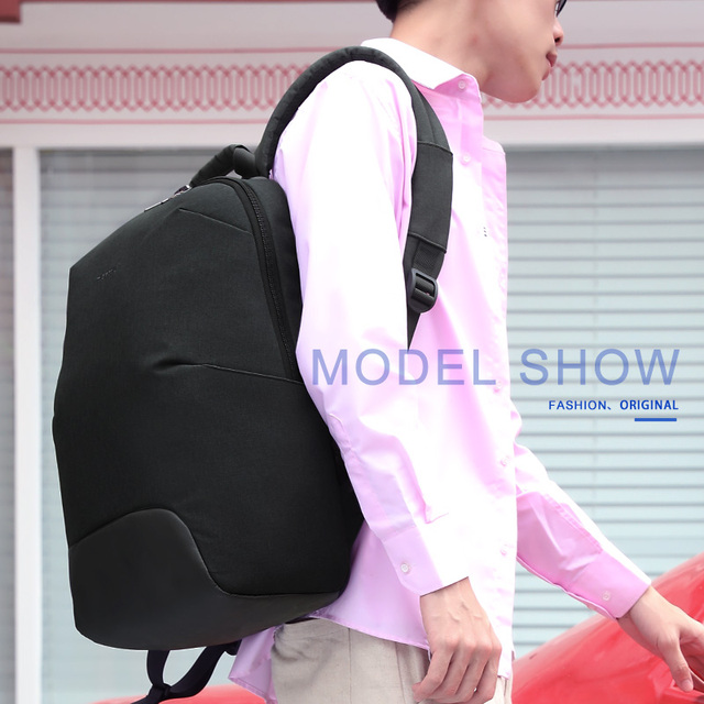 2019 New Design Fashion Anti theft RFID 15.6 inch Laptop Men Backpack Large Capacity Light Weight Travel School Backpack Mochila 5