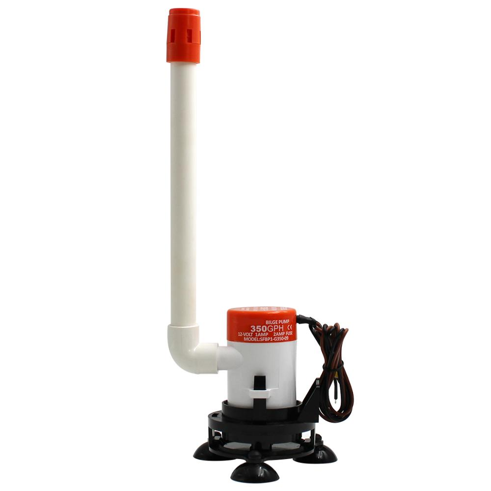 12V Boat Livewell Baitwell Aerator Aeration Pump Submersible Bait Tank Pump