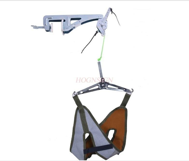 Door suspension cervical traction frame strap cervical traction device home cervical spondylosis stretcher neck pain
