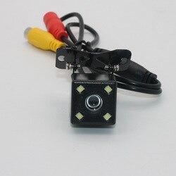 Kamera cofania kamera samochodowa na kamera pokładowa pojazd kamera cofania wysokiej rozdzielczości Night Vision 4 lampa|Kamery pojazdowe|Samochody i motocykle -