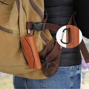 Image 5 - ポータブル収納袋革保護ケースハンドバッグ DJI OSMO ポケットアクションカメラアクセサリー用のバックルをぶら下げと 3 色