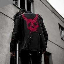 Retro Denim Jacket Jacket Streetwear 2019 Men's Fashion Denim Jacket Men's Casual Bomber Jacket Men's Casual Hip Hop Men's S-3XL