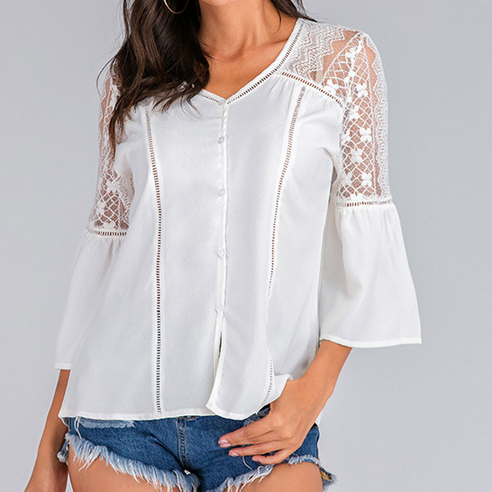 BOHO Womens Holiday Off Shoulder Tops Summer Beach Ladies Floral Blouse T Shirts
