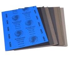 Абразивная Бумага влажный сухой лист наждачной бумаги инструмент для отделки шлифовальная Полировочная поверхность в сборе зернистость Автомобильная шлифовальная деревянная мебель