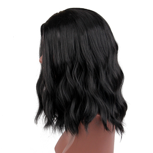 Image 3 - ALAN EATON Short Curly BOB Wigs Womens Black Wigs Female Synthetic Heat Resistant Fiber African American Wigs Cosplay Lady