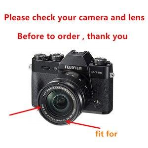 Image 2 - Cubierta de lente de flor Reversible para Fujifilm XC 16 50mm f/3,5 5,6 io II lente XT30 XT20 XT10 XA20 XA5 XA3 XA2 XA10 XM1 XA1
