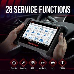 Image 3 - AUTEL MaxiCOM MK808TS TPMS automotive diagnostic tool TPMS programming tool tire pressure tool obd2 scanner pk mp808ts mk808bt