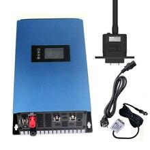 1000 Вт Солнечный Grid-Tie Инвертор постоянного тока 22 V-65 V или 45 V-90 V постоянного тока до AC110V/220 V Авто со слежением за максимальной точкой мощности инвертор с чистым синусом с ограничителем/Wi-Fi дополнительно