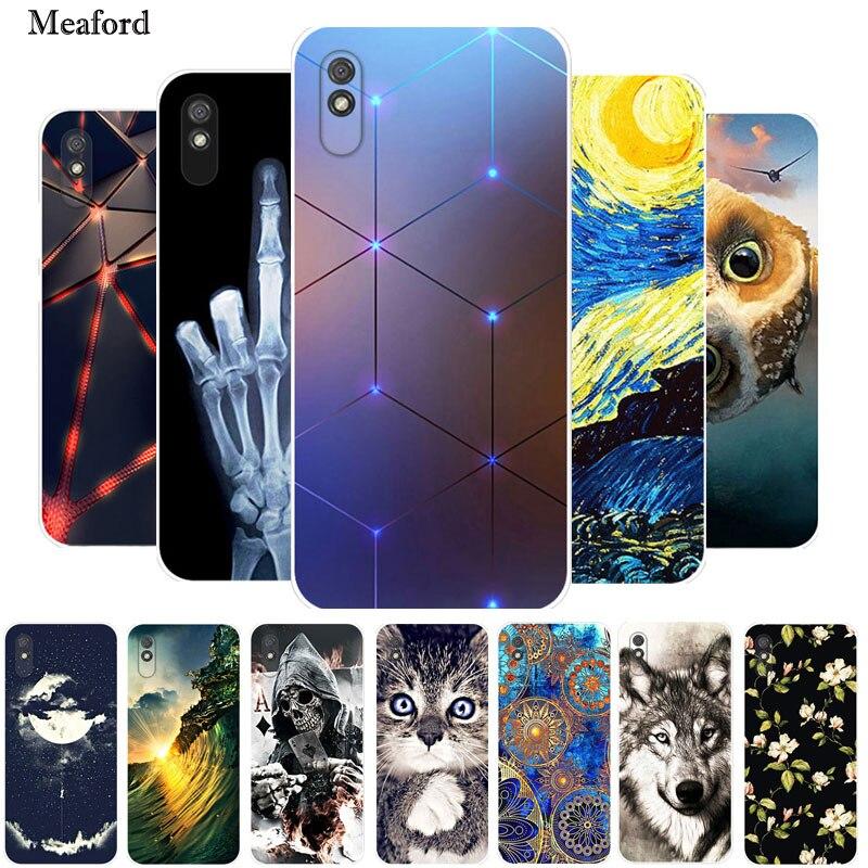 For Redmi 9AT Case Xiaomi Redmi 9AT Case Silicone TPU Soft Back Cover Phone Case For Xiaomi Redmi 9AT 9 AT 9A T Etui Bumper