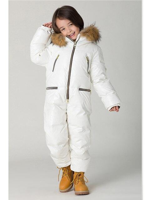 Older children new fashion warm conjoined down jacket 3