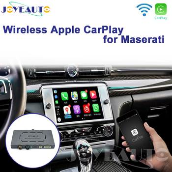 Joyeauto Wifi Wireless Apple Car Play Carplay For Maserati Retrofit 2014-2016 Ghibli Quattroporte with iSO13/Android Mirroring