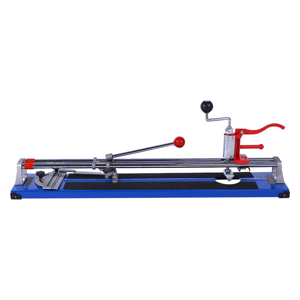 600MM Manual Tile Cutter Ceramic Porcelain Floor Wall Cutting Machine Hand Tools Portable Hand Tile Cutter Building Tools NEW