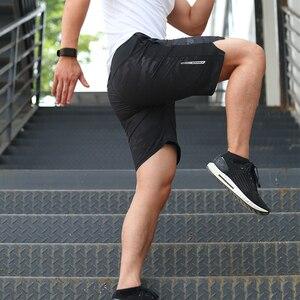 FANNAI Running Shorts Men Sports Jogging Shorts Zipper Pockets Quick Dry Men's Gym Men Sport gyms Short Pant Men(China)