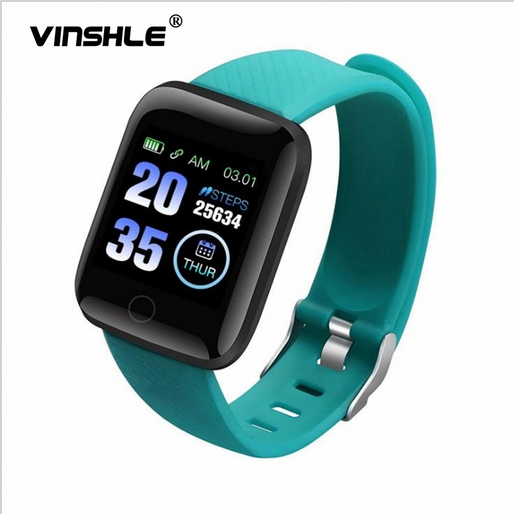 Measurement edometer Smart Bandvinshle Watches P116 Plus Bluetooth Smart Wristband Sports Fitness Bracelet Blood Pressure