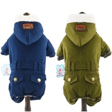 Пальто для собак; одежда для домашних животных; зимняя теплая одежда для собак; комбинезон; одежда для домашних животных; Roupa Cachorro; одежда для маленьких собак; 2 цвета; XS, s, m, l, xl
