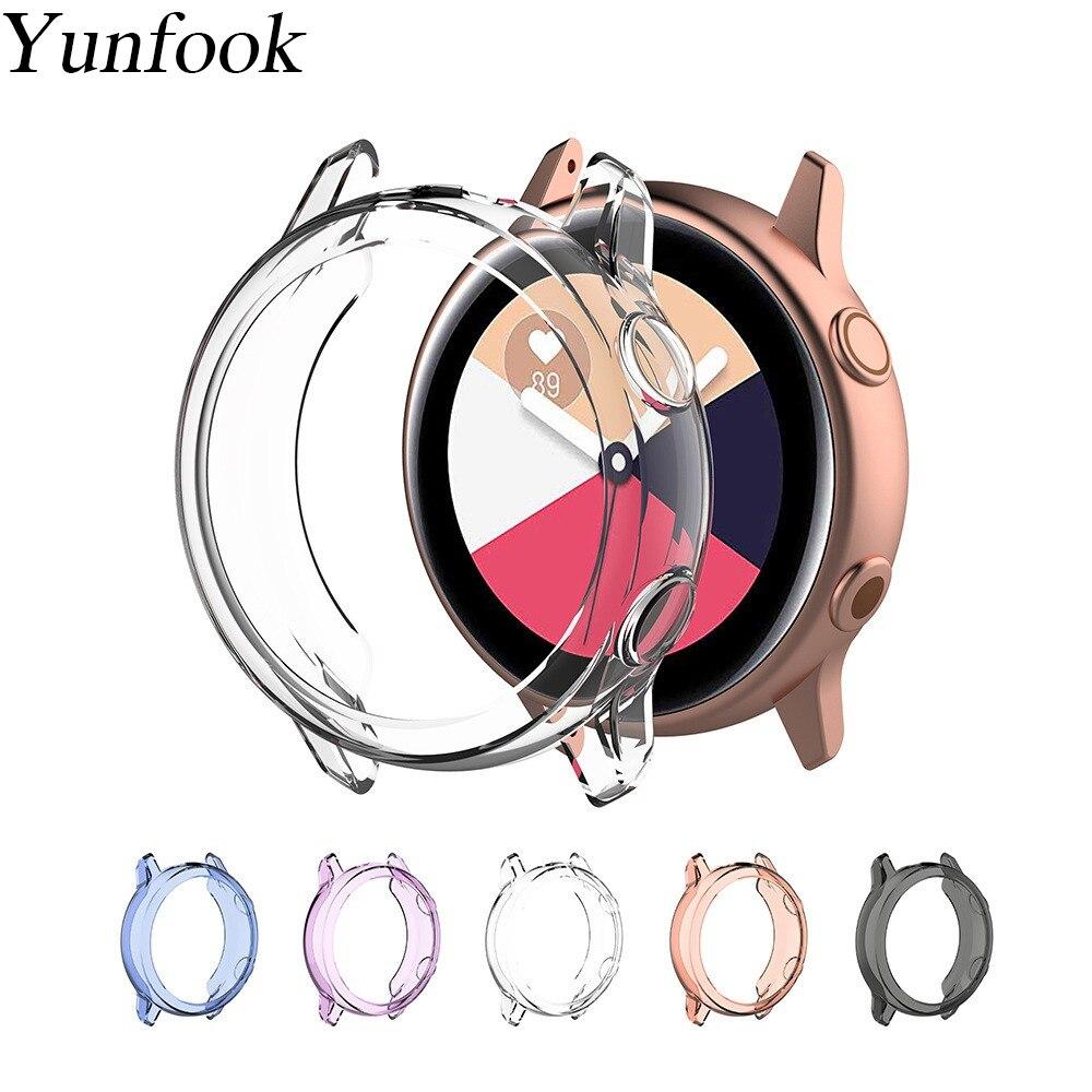 Чехол для galaxy active, прозрачный противоударный бампер, Мягкий защитный чехол из ТПУ для Samsung Galaxy Watch Active