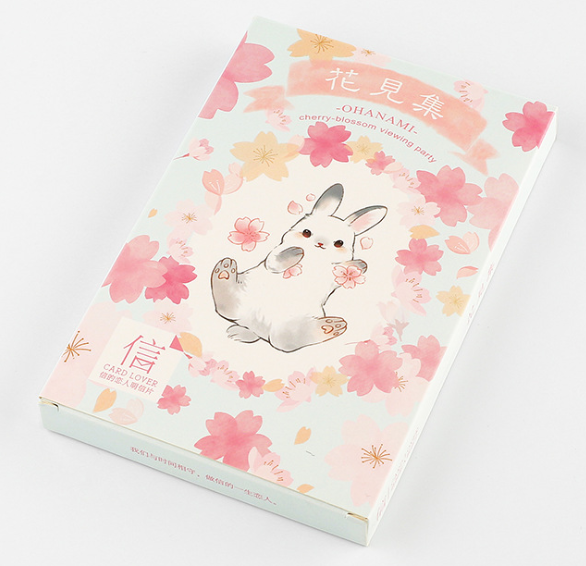 See Flower Paper Postcard(1pack=30pieces)