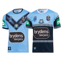 NSW Blues 2020 RUGBY JERSEY Size: S-3XL--5XL Print custom name number