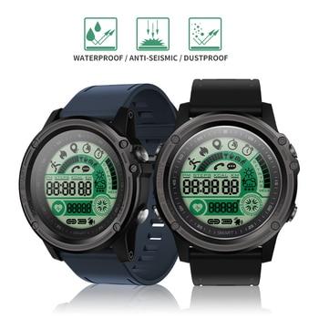 SENBONO S28 Sport tracker Stopwatch IP68 Waterproof Smart Watch Compass Remote Control Call SMS Reminder Heart Rate Smartwatch 2