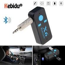 X6 Adapter Bluetooth Ontvanger Auto Bluetooth Aux Kit Ondersteuning Tf-kaart A2DP Audio Stereo 3 In 1 Bluetooth Handenvrij ontvanger