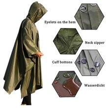 3 в 1 уличный военный водонепроницаемый дождевик, дождевик, дождевик для мужчин и женщин, мужской дождевик от дождя, мотоциклетный дождевик, ...