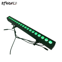 LED Bar Light RGBWA+UV 6in1 Color 18x18W LED Wall Wash Lights Perfect For Stage Party Wedding Events Lighting Fast Shipping
