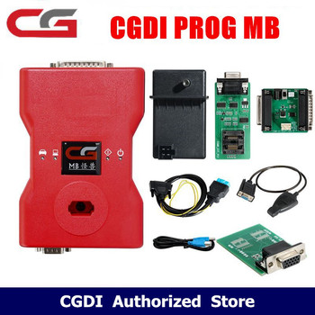 CGDI Prog MB for Benz Car Key Add Fastest for Benz Key Programmer Support All Key Lost Plus ELV Repair Adapter