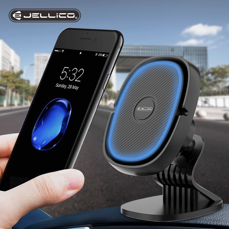 Jellico Magnetic Car Phone Holder Mini Air Vent Clip Mount Magnet Mobile Stand For IPhone Xiaomi Support Cell Holder In Car GPS