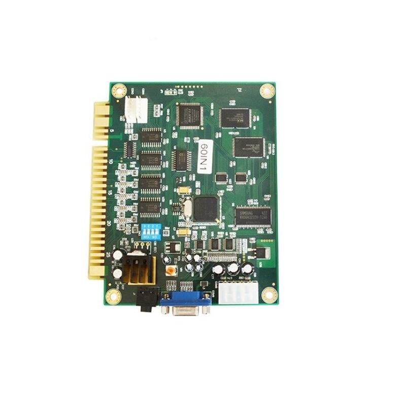 Carte de circuit imprimé Multicade OOTDTY 60 en 1 sortie CGA/VGA pour accessoires de jeux vidéo classiques Jamma Arcade