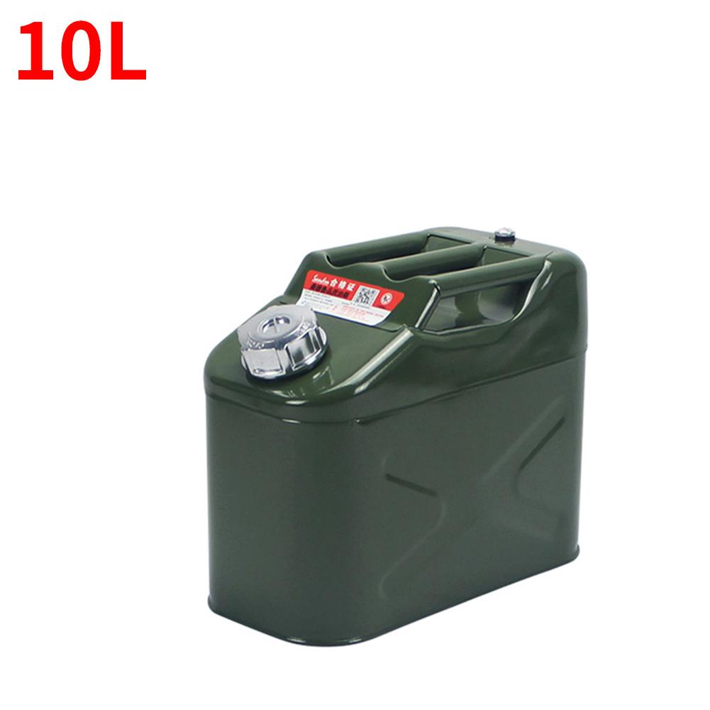 Upgrade thicker <font><b>20L</b></font> Car Gasoline Diesel Fuel <font><b>Tank</b></font> Can Metal Iron Oil Drum Petrol Spare Barrel Car Motorcycle Accessories image