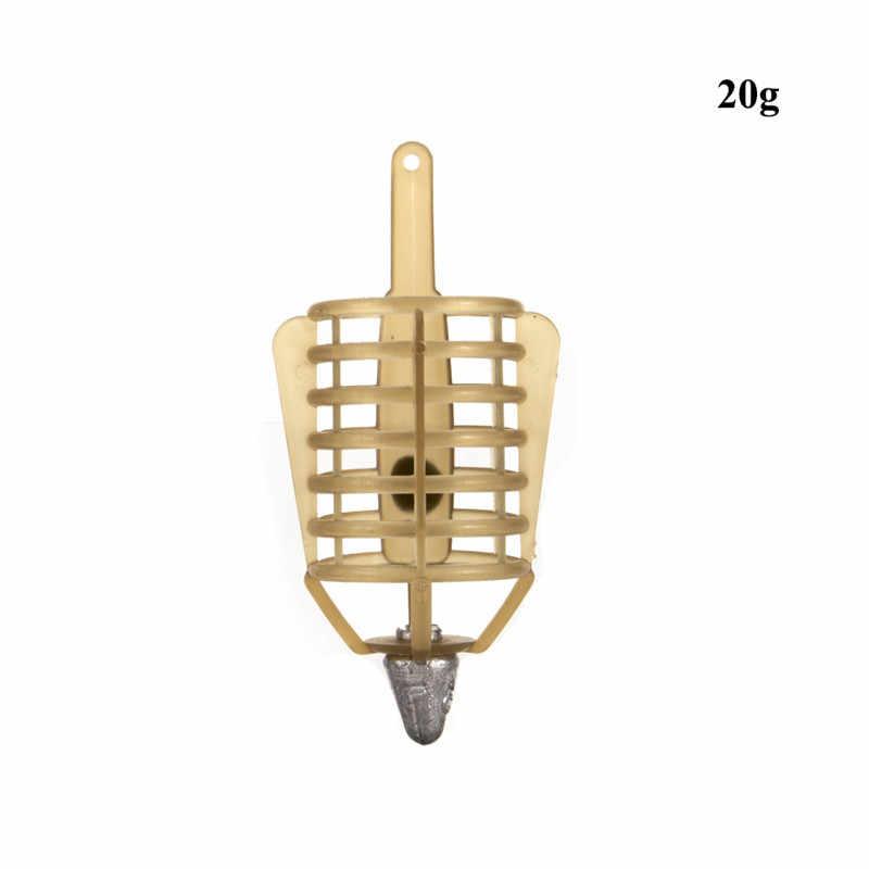 Pesca conector acuerdo de pesca de herramienta de pesca accesorios 1PC 20G-50G cebo jaula de calor