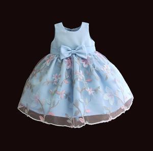 Image 1 - Hetiso robe brodée pour bébés filles