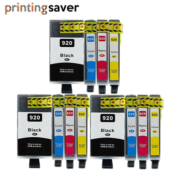 12Pcs Compatible ink cartridge for HP 920XL for hp 920 For HP920 Officejet 6000 6500 6500A 7000 7500 7500A printer Full ink