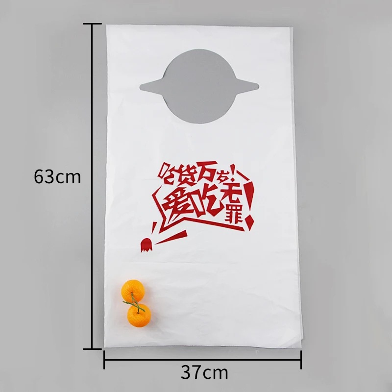 Disposable Apron Thick Plastic Adult Children Foodie Bib Kitchen Restaurant Oil Resistant Antifouling Individual Package|Oversleeves| |  - title=